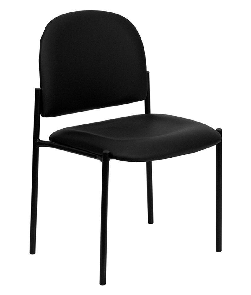 Flash Furniture Vinyl Comfortable Stackable Steel Side Chair 590450ef2a00e42d88546ff1