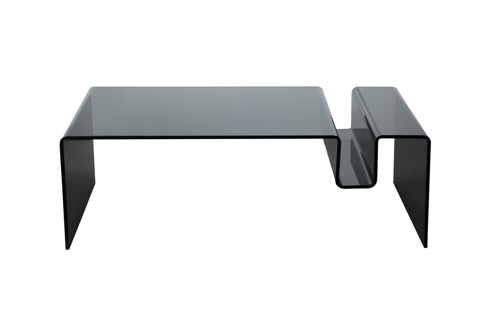 Clarity Coffee Table Smoked