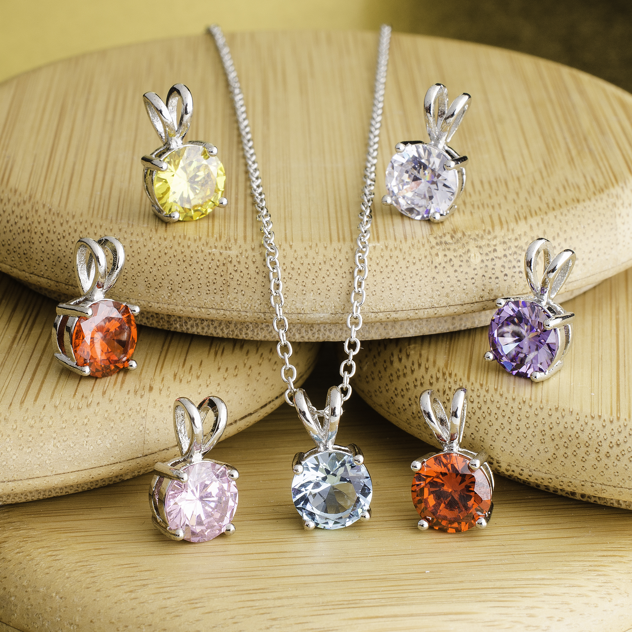 7_Pack_Genuine_Gemstone_Drop_Necklace_giftboxed