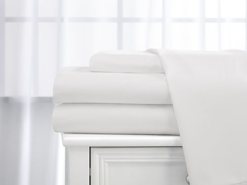 4 Piece Set: Ultra Soft 1800 Series Bamboo-blend Bedsheets In 9 Colors - Twin, White