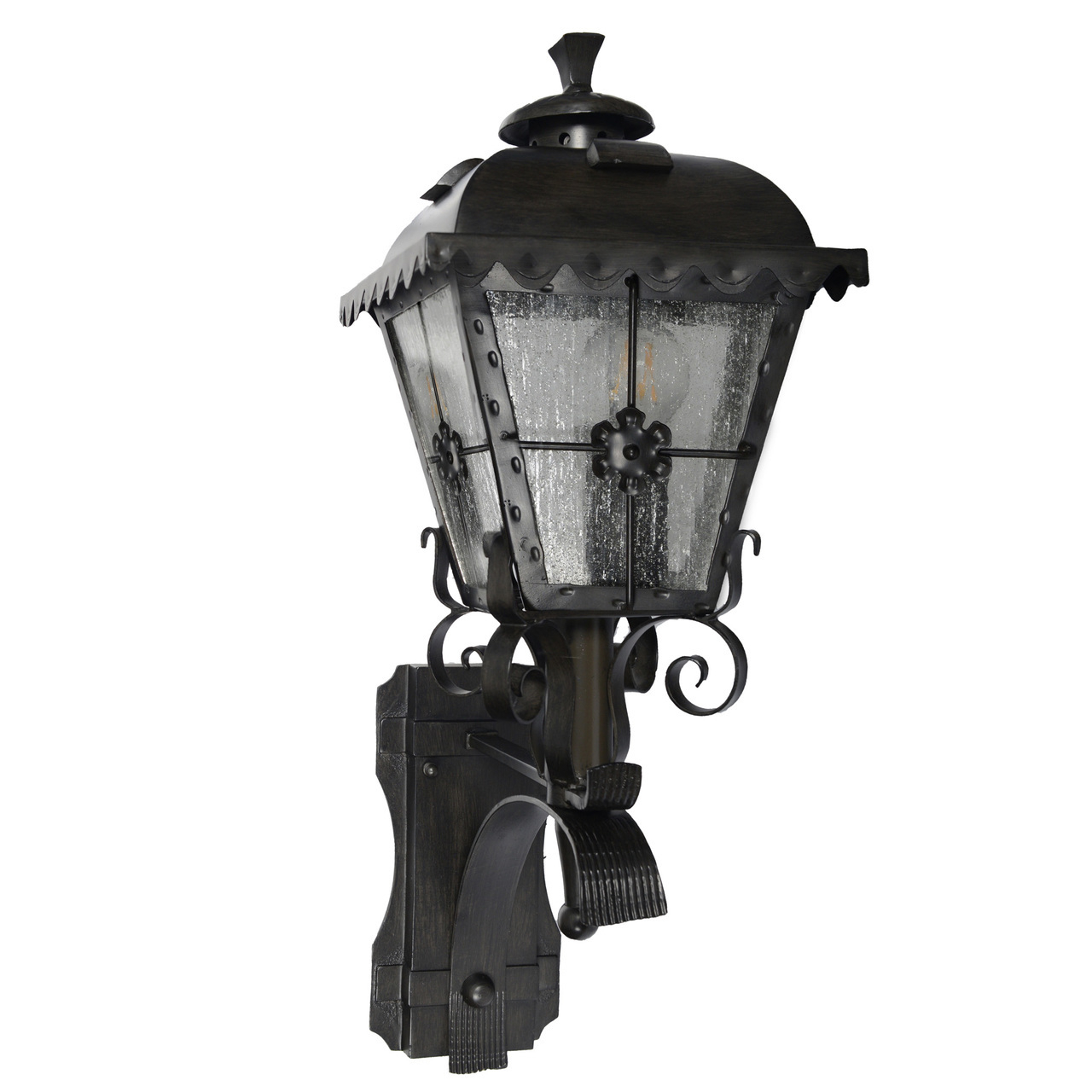 Outdoor Led Standing Wall Lantern Small Tullamore