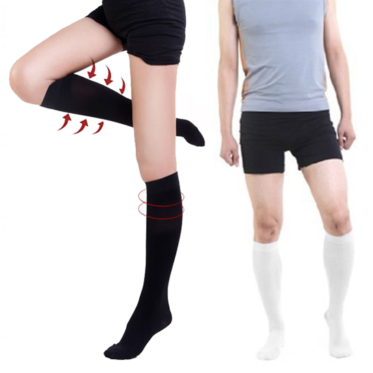 Compression Socks for Men and Women - Black, Small/Medium 57630e58483d6f2f6a8b4622