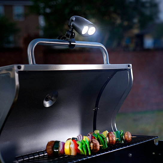 Grill Star Weatherproof Universal LED Grill Light with Clamp 554bfd8a493d6f25298b6992