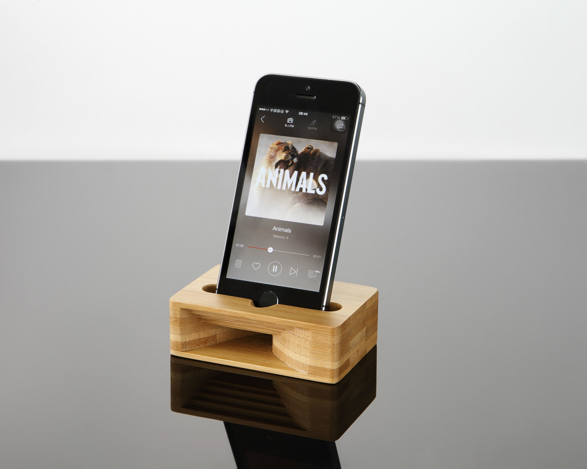 Smartphone Bamboo Speaker - Better Music Without Batteries 5942affd4fe4e566726b975a