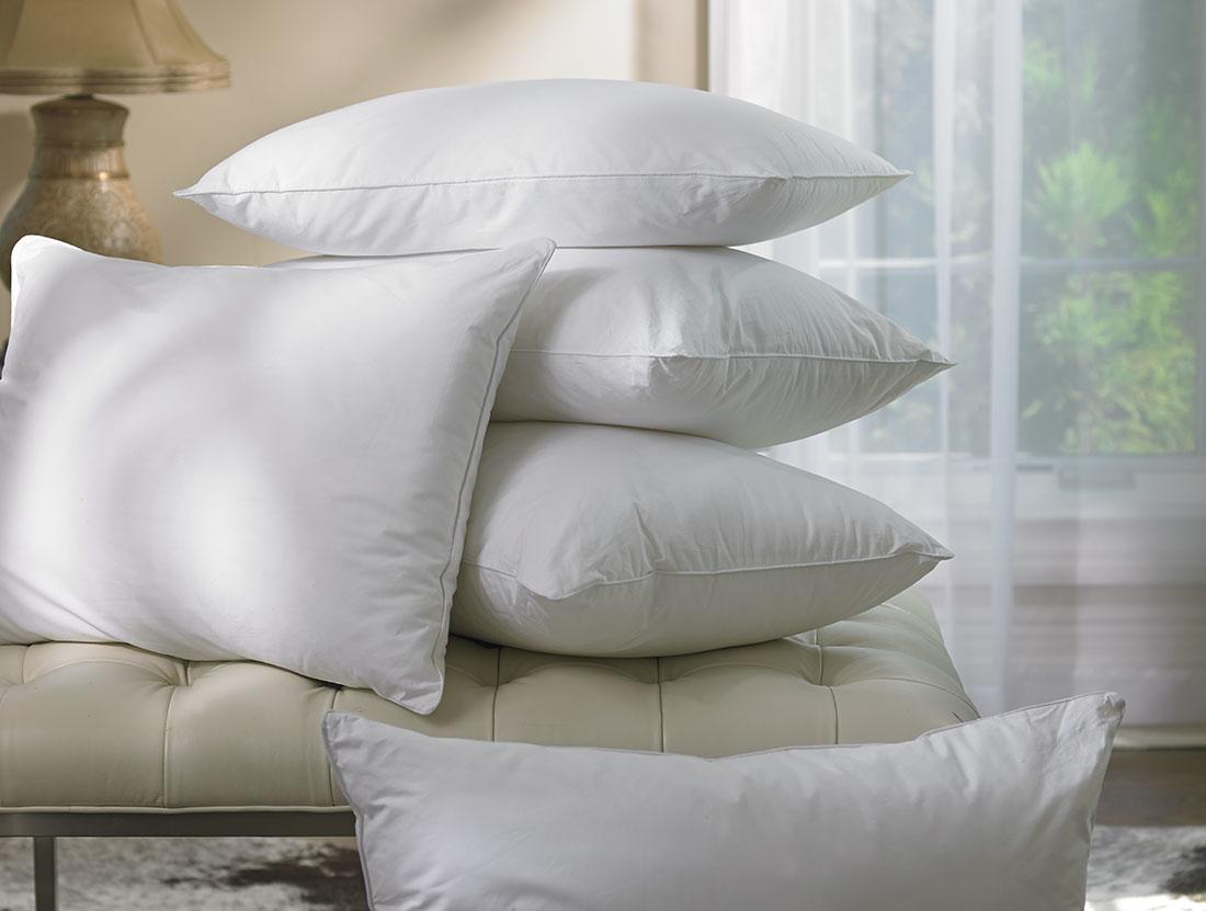 Down-alternative Premium Bed Pillows: 4 Pack - Queen / Standard