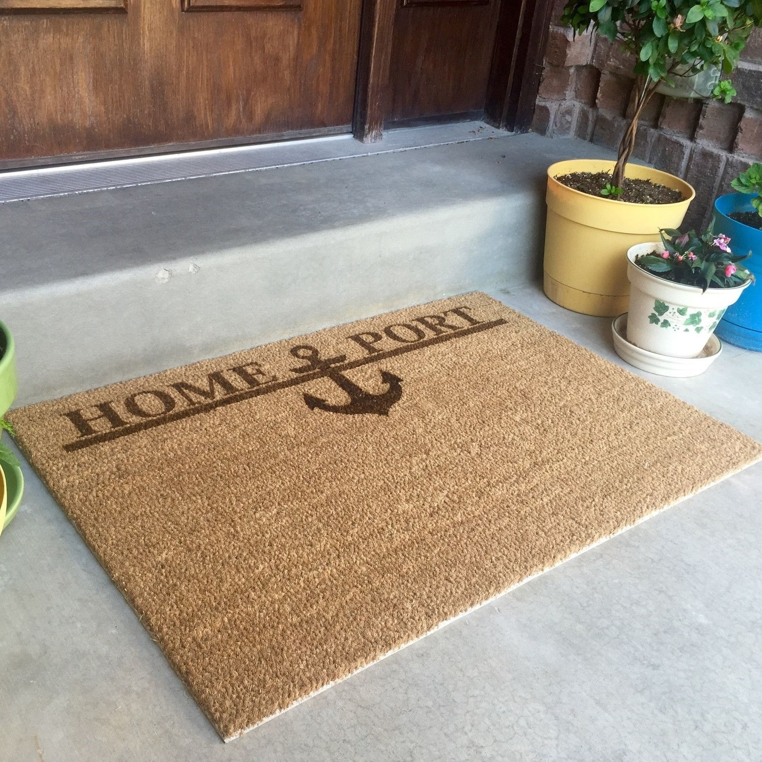 Personalized Door Mat - Home Port