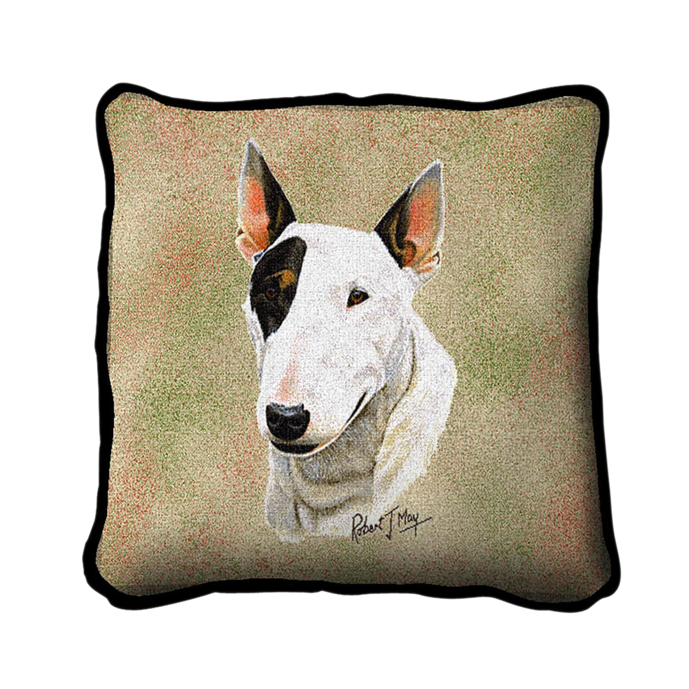 Pure Country Weavers Home Decorative Bull Terrier Pillow 5954cd182a00e444dc0bb213