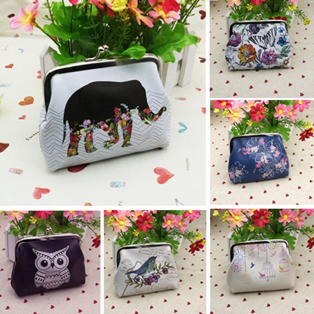 Women Girl Fashion Faux Leather Wallet Card Holder Coin Purse Clutch H (490348) photo