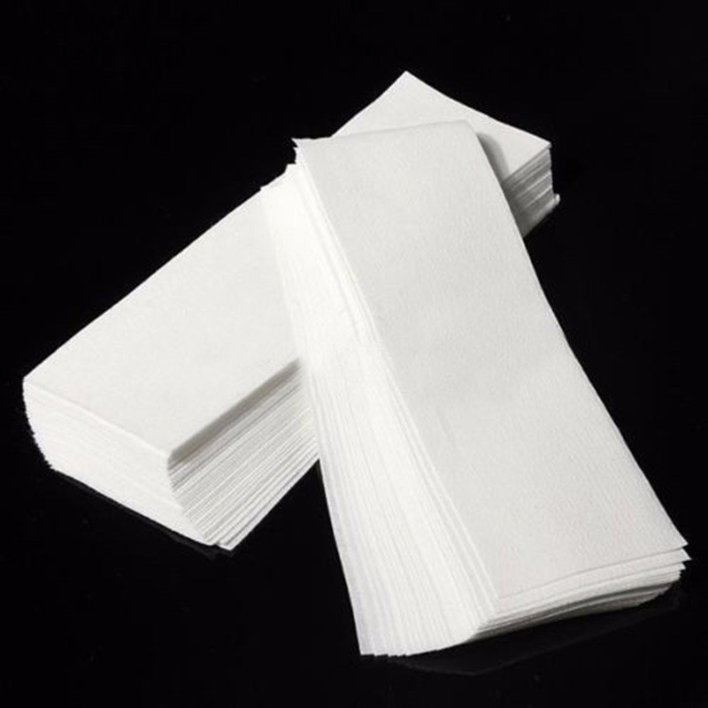 100 pcs Depilatory Nonwoven Hair Removal Epilator Wax Strip Paper Roll Waxing 595b476e2a00e462fb53ee50