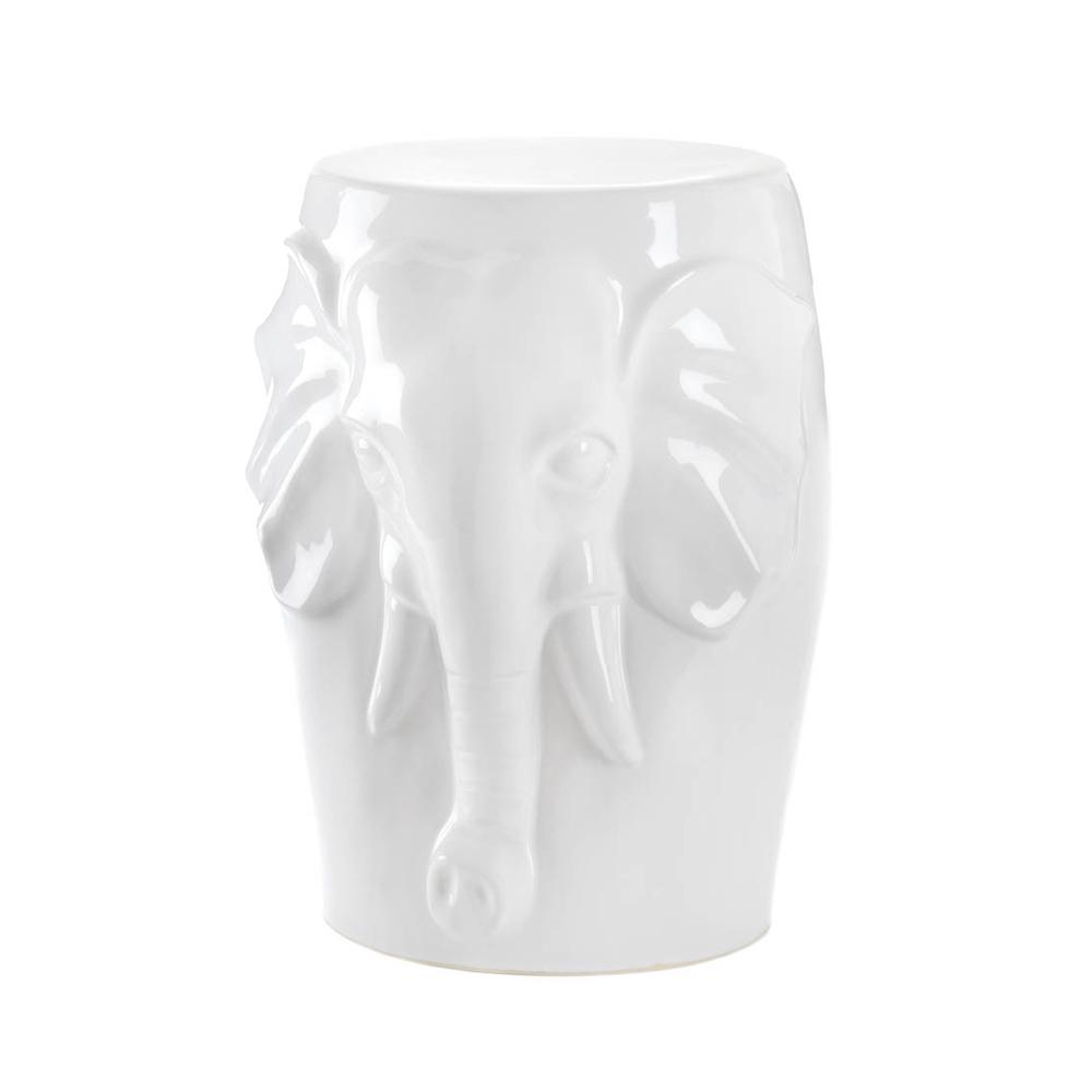 Koehler Home Decorative Decorative Elephant Stool