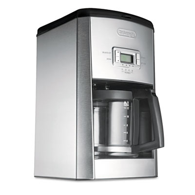 Delonghi Dc514T Dc514T 14-Cup Esclusivo Drip Coffee Maker Stainless Steel Black/Silver 596d028c2a00e47c60229bdb