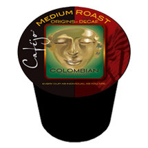 Cafejo K-Cj-Dc-1-24 Decaf Colombian K-Cups for Keurig Brewers 596d1e2b2a00e424e20fe85b