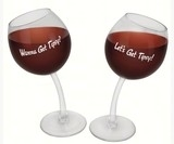 Big Mouth Bmwgtp Tipsy Wine Glass Set of 2 596d36ce2a00e4022c3104b2