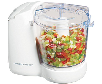 Hamilton Beach 72600 WHT FreshChop Food Chopper - White pack of 2 596d37af2a00e4022c3113e3