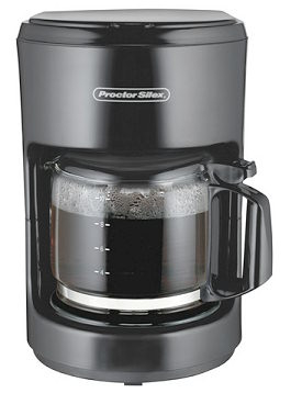 Proctor 48351 BLK 10 Cup Coffee Maker - Black pack of 2 596d37b62a00e402301f8222