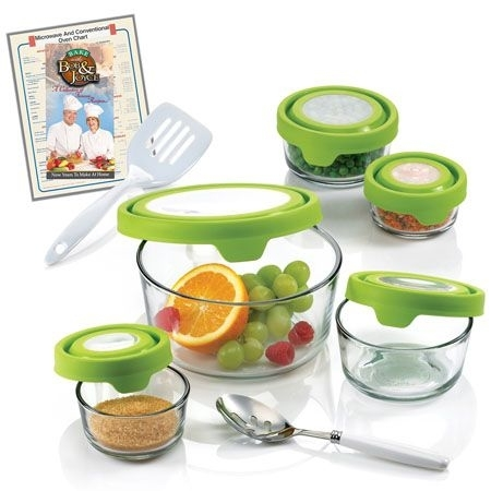 Anchor Hocking Ah14Ts 14 Pc Storage Bowl Set w TruSeal See-Thru Lids 596d4d092a00e43d1c393b15