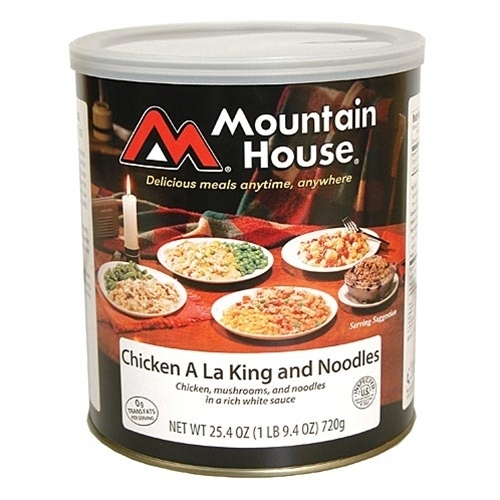 Mountain House 290111 Chicken Ala King and Noodles - 10 Can 596e24ed2a00e4592b63db31