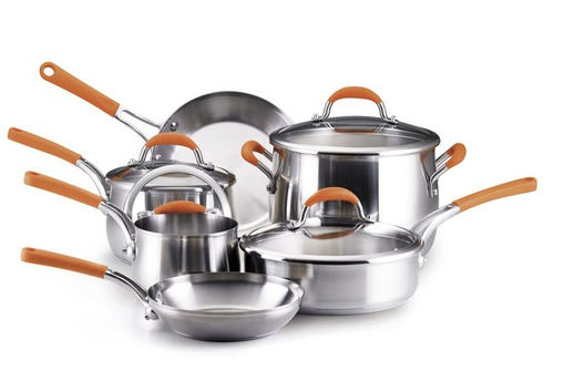 Rachael Ray 75813 10 Piece Stainless Steel II Cooking Set 596e273b2a00e4592b63ed43