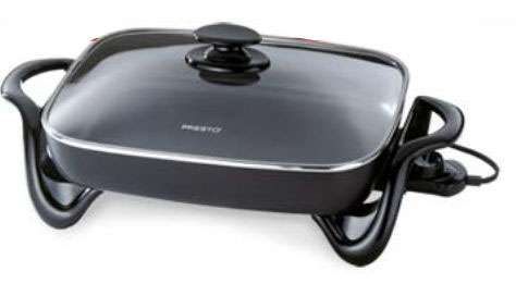 National Presto Industries 06852 16 in. Electric Skillet with Glass Cover 596e3f0b2a00e45bd6467bb9