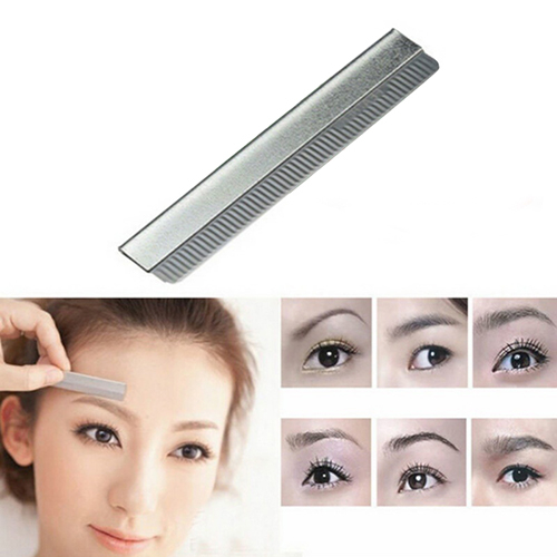 10Pcs/Lots Eyebrow Razor Trimmer Shaper Shaver Blades Hair Remover Make Up Kit 597ef2382a00e40f8043c9e6