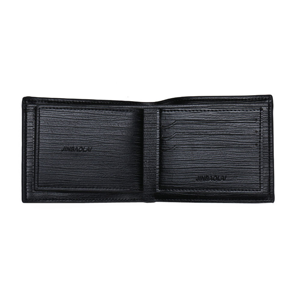 Men Leather  Bifold Wallet Coin Purses Credit Cards Holder Pocket (BB-4250) photo