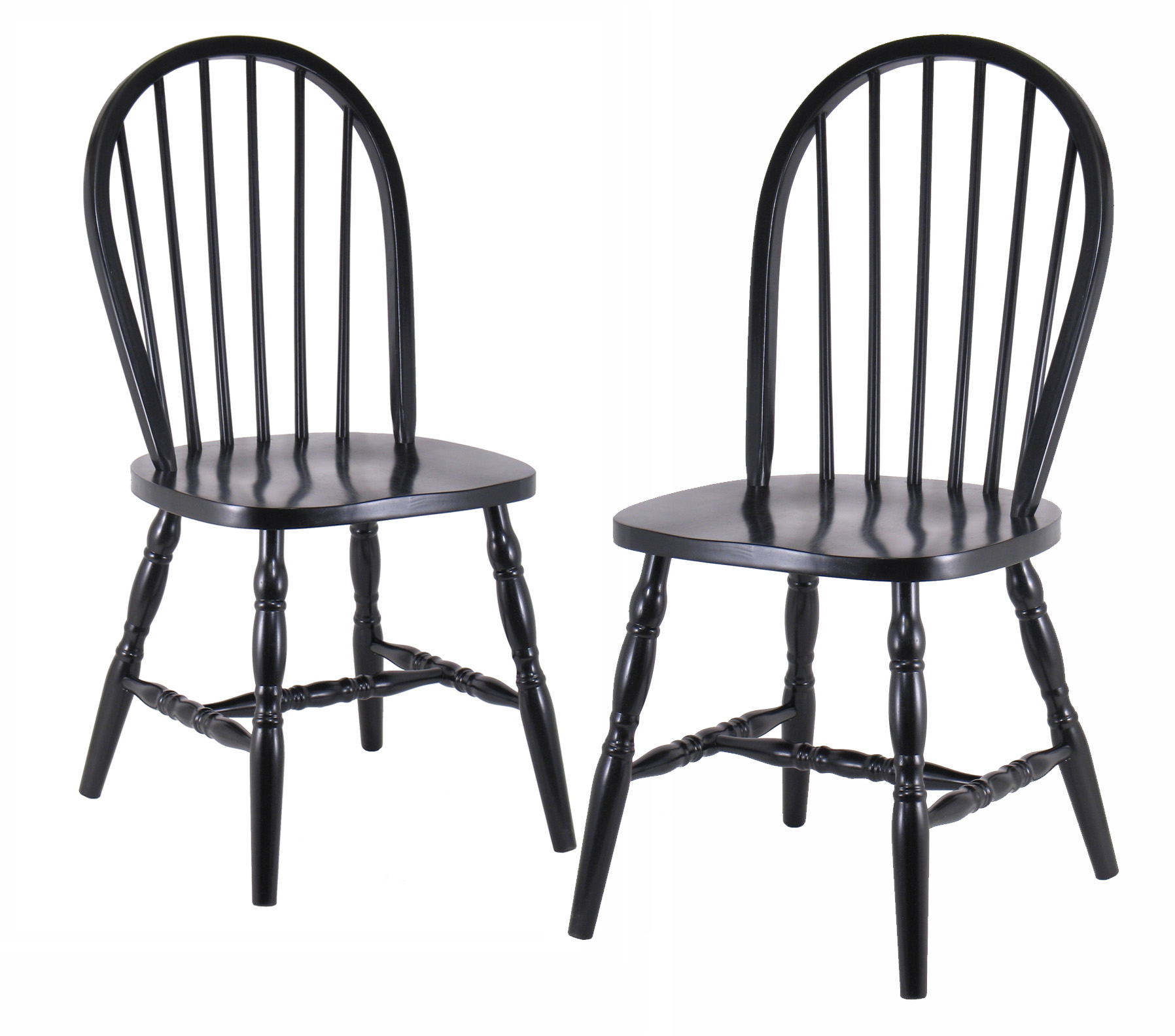 Winsome Accent Chairs Curved Legs