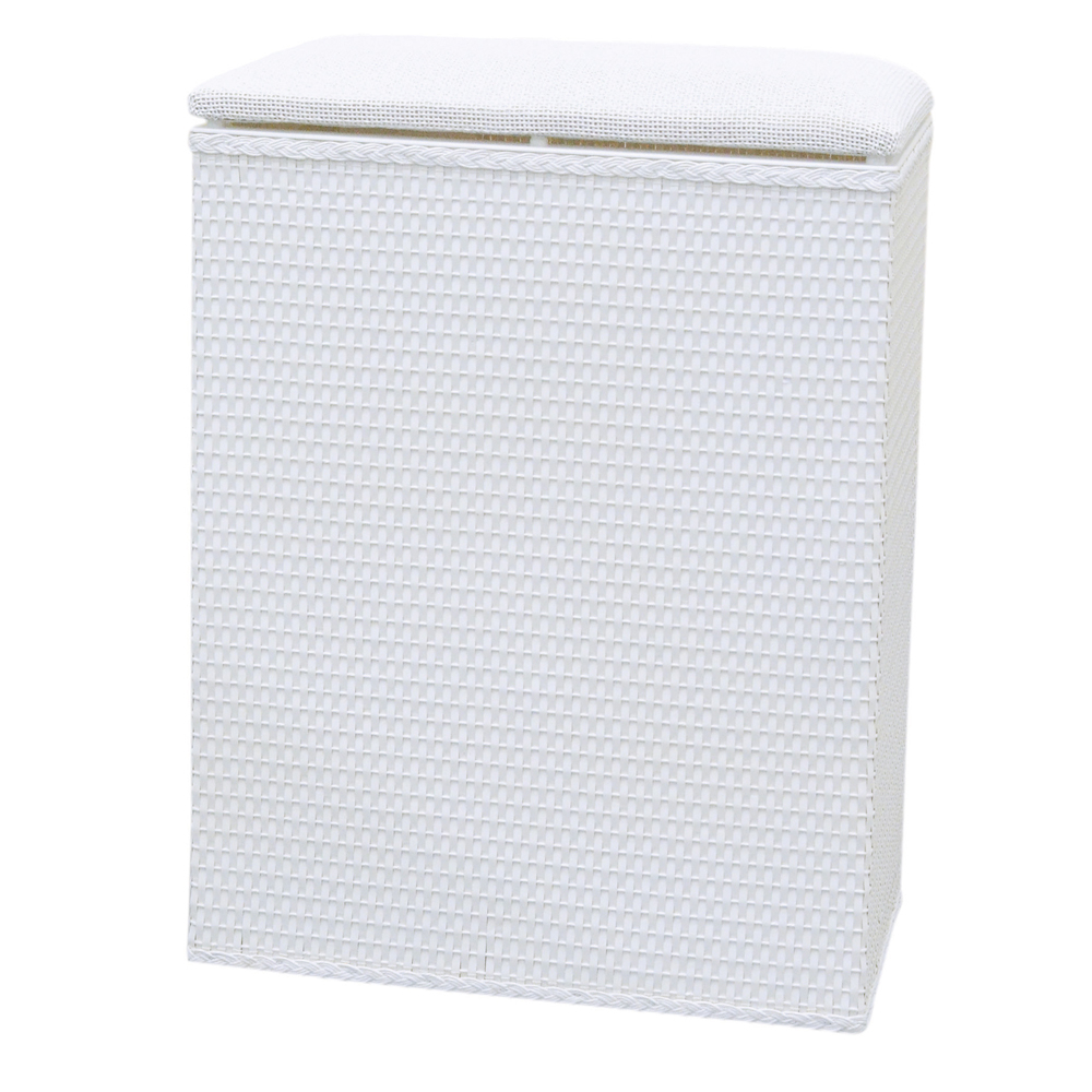 Lamont Home Laundry Storage Barrington Family Hamper - White 57d68159ef85264161662517