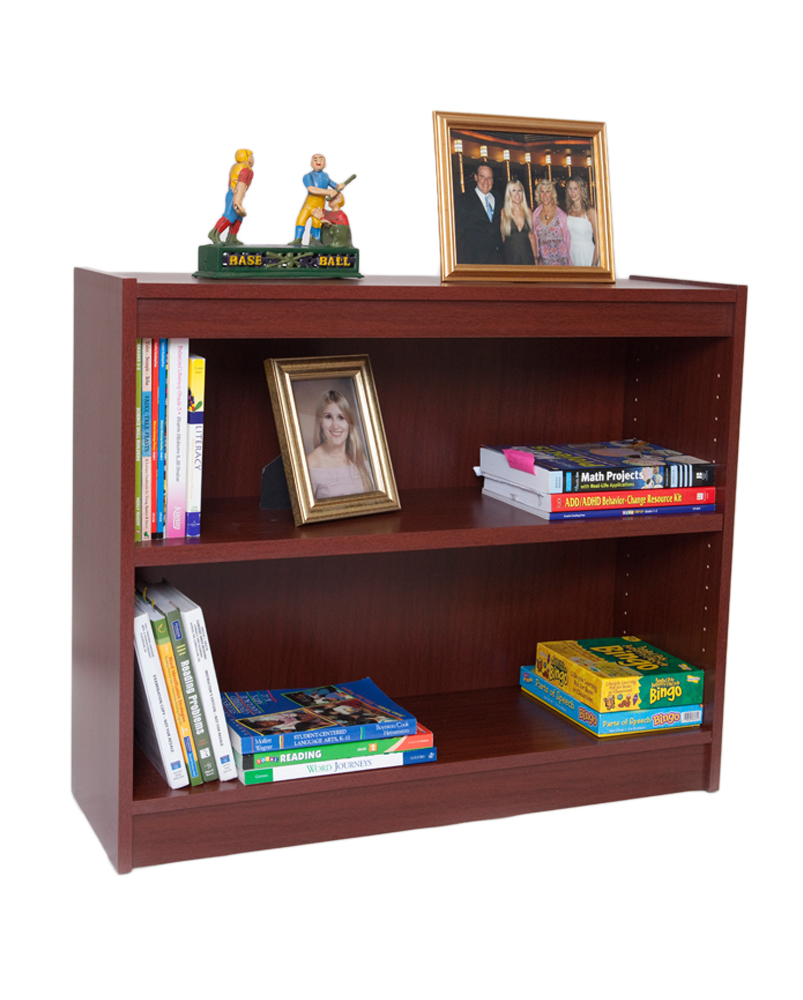 Norsons Heavy Duty Shelf Wood Veneer Bookcase Excalibur