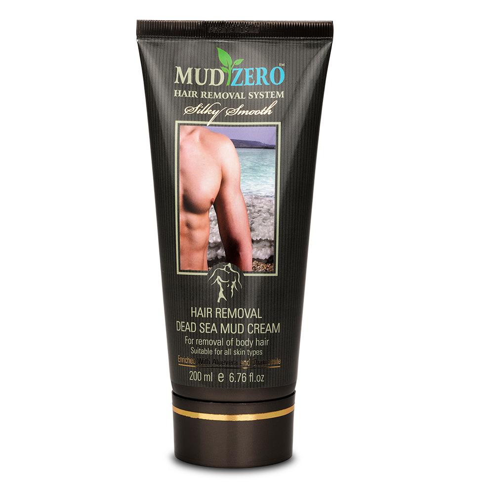 MudZero Dead Sea Hair Removal Cream for Men 200ml 59ad5f0940f76c269576ac77