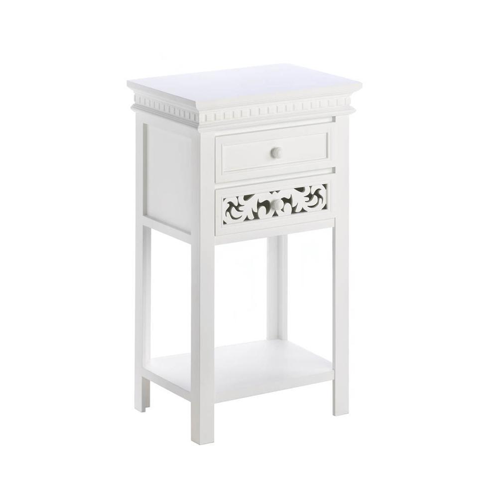 Koehler Home Decorative Fleur De Lis Side Table