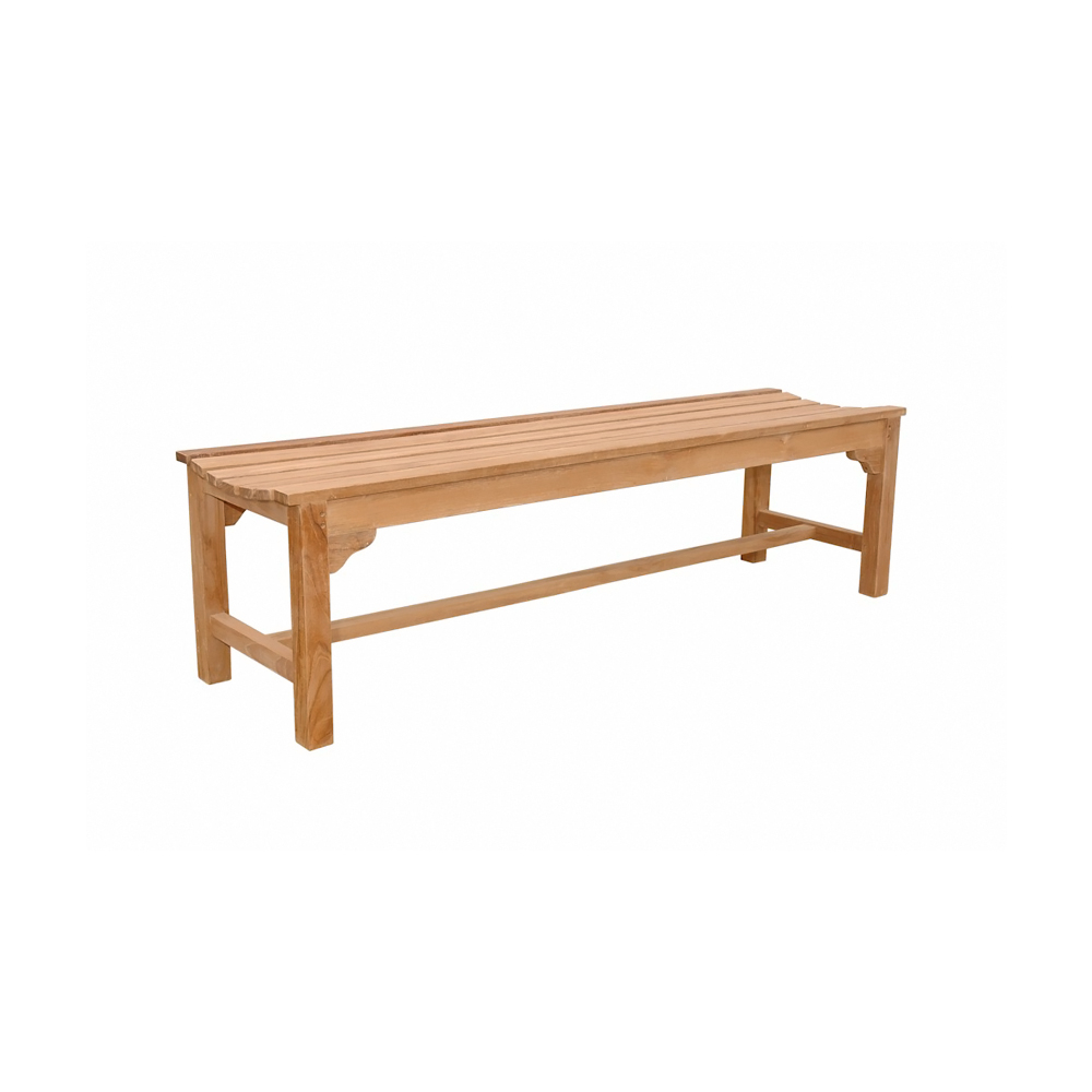 Andersonteak Outdoor Living Furniture Hampton 3-seater Backless Bench