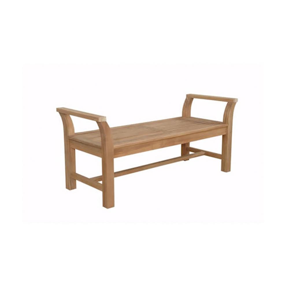 Andersonteak Outdoor Living Furniture Sakura Backless Bench