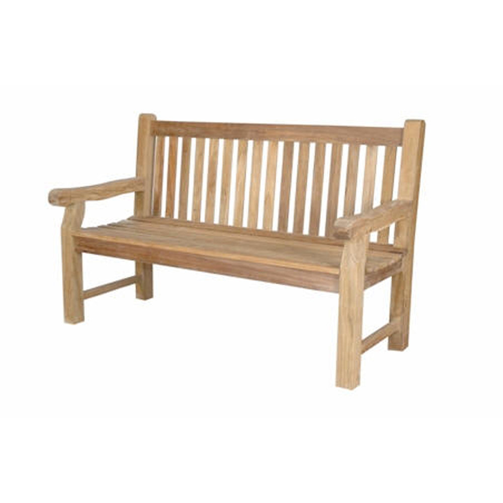 Andersonteak Outdoor Living Furniture Devonshire 3-seater Extra Thick Bench