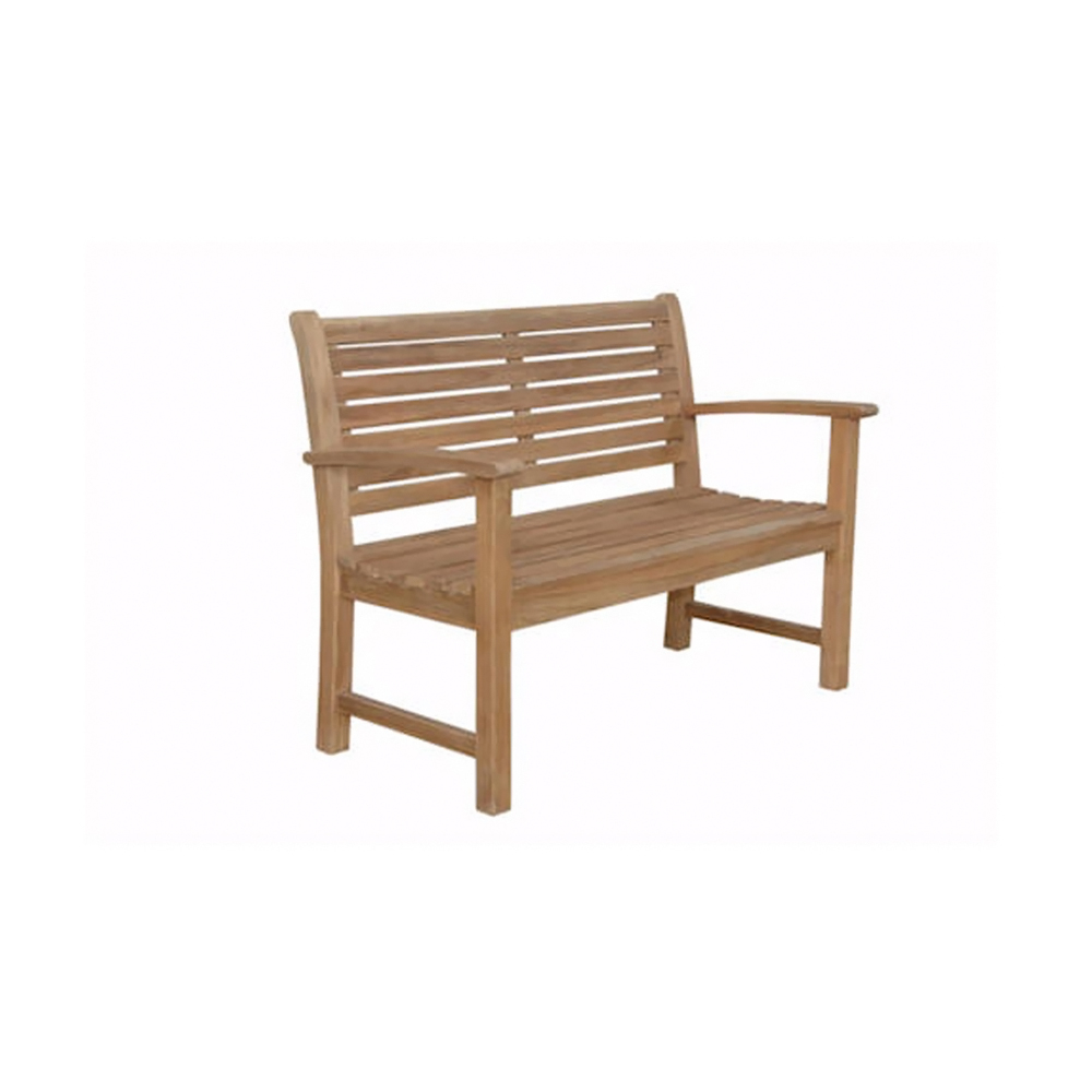 "Andersonteak Outdoor Living Furniture Victoria 48"" 2-seater Bench"