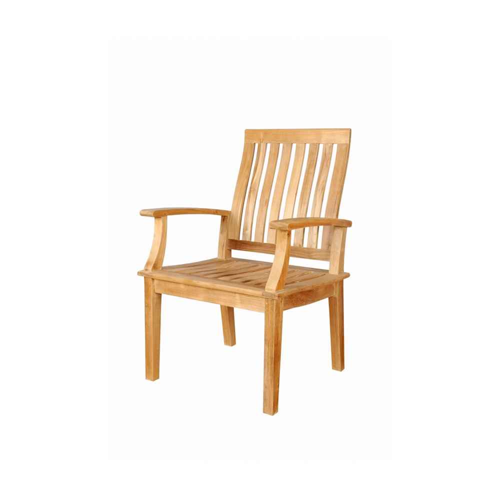 Andersonteak Outdoor Living Furniture Brianna Dining Armchair