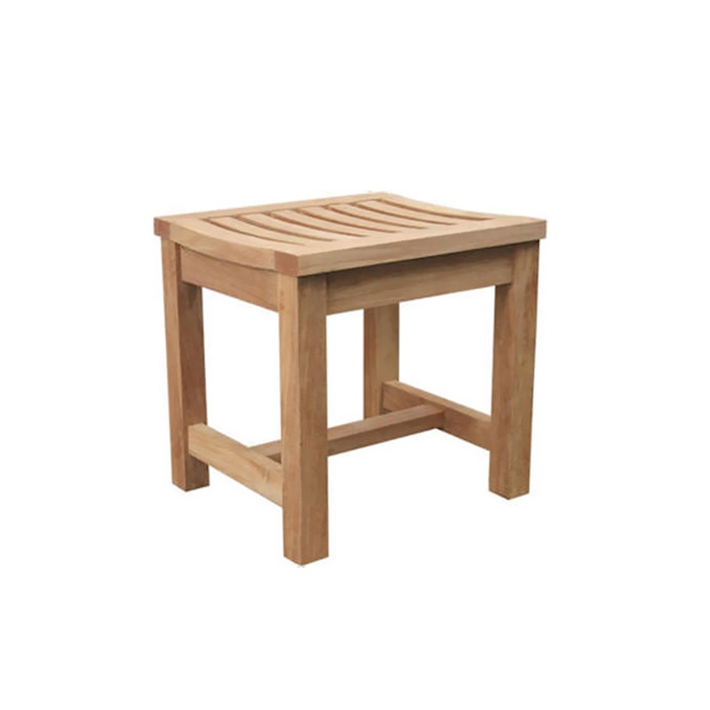 """Andersonteak Outdoor Living Furniture Madison 24\"""" Backless Chair"""