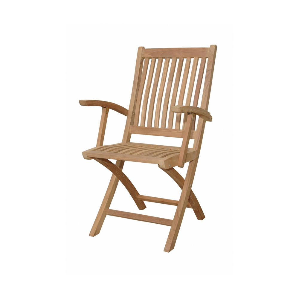 Andersonteak Outdoor Living Furniture Tropico Folding Armchair