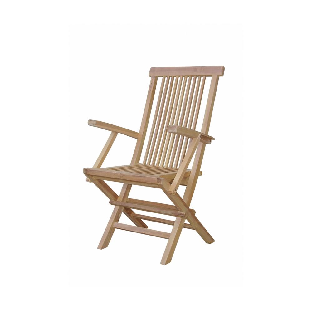 Andersonteak Outdoor Living Furniture Bristol Folding Armchair