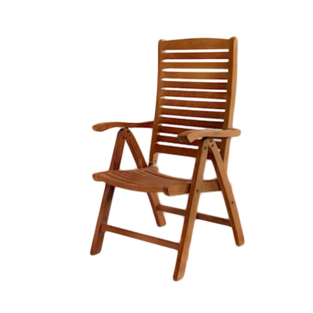 Andersonteak Outdoor Living Furniture Carina 5-position Highback Recliner