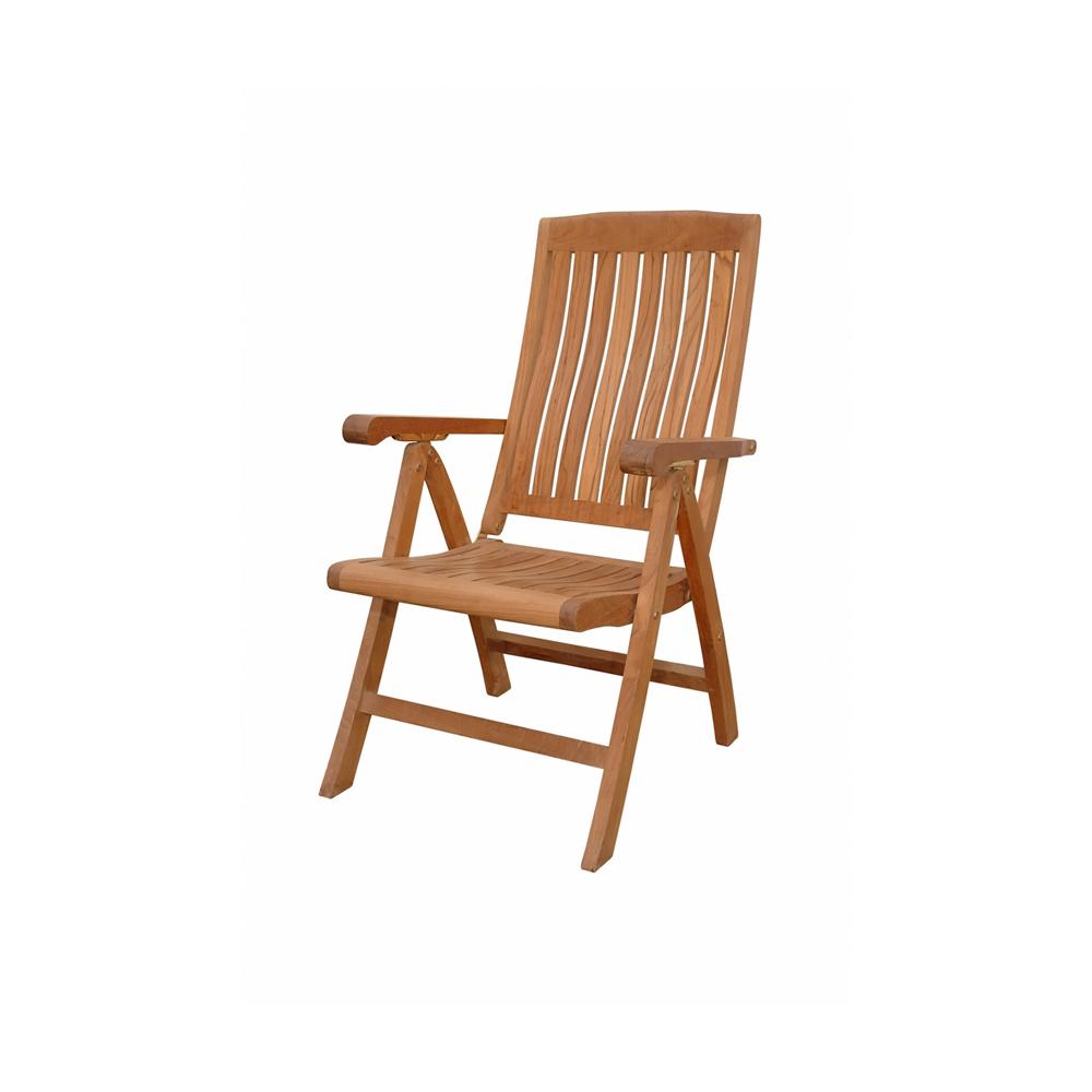 Andersonteak Outdoor Living Furniture Katana 5-position Recliner Armchair