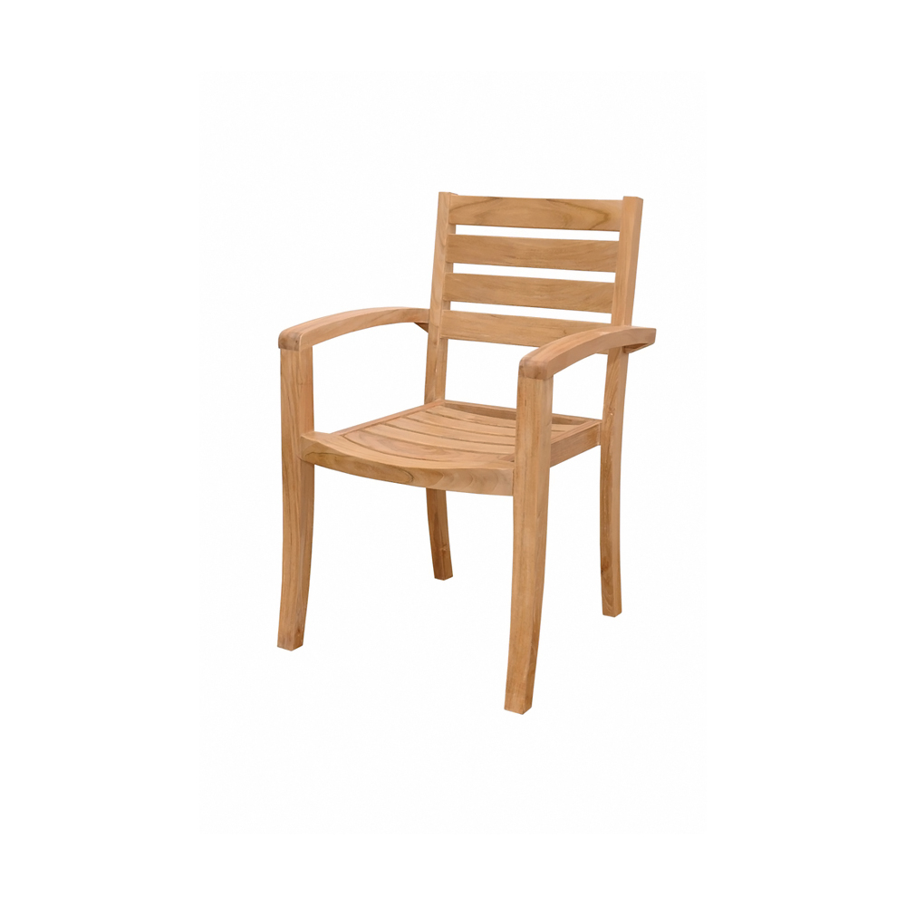 Andersonteak Outdoor Living Furniture Catalina Stackable Armchair