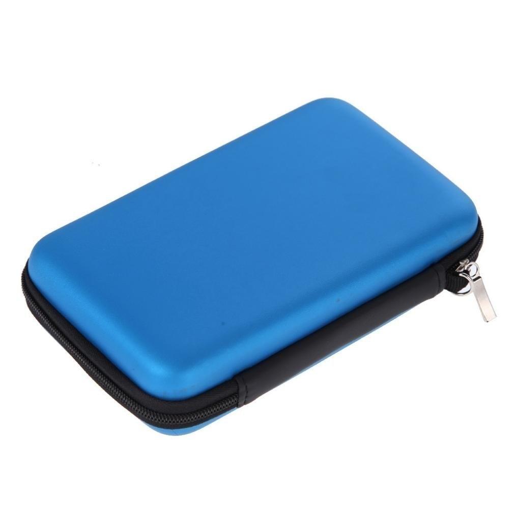 New Nintendo 2DS XL Protective Hard Travel Cases Cover Box Bag - Blue 59b350a80bda715f103d9347