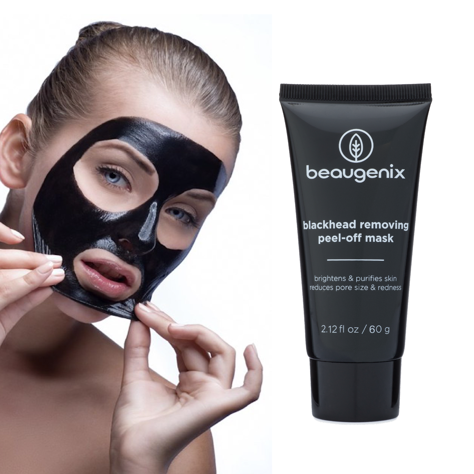 Beaugenix Deep Cleansing Blackhead Removing Skin Purifying Face Peel 5740fbda713d6ffb458b5021
