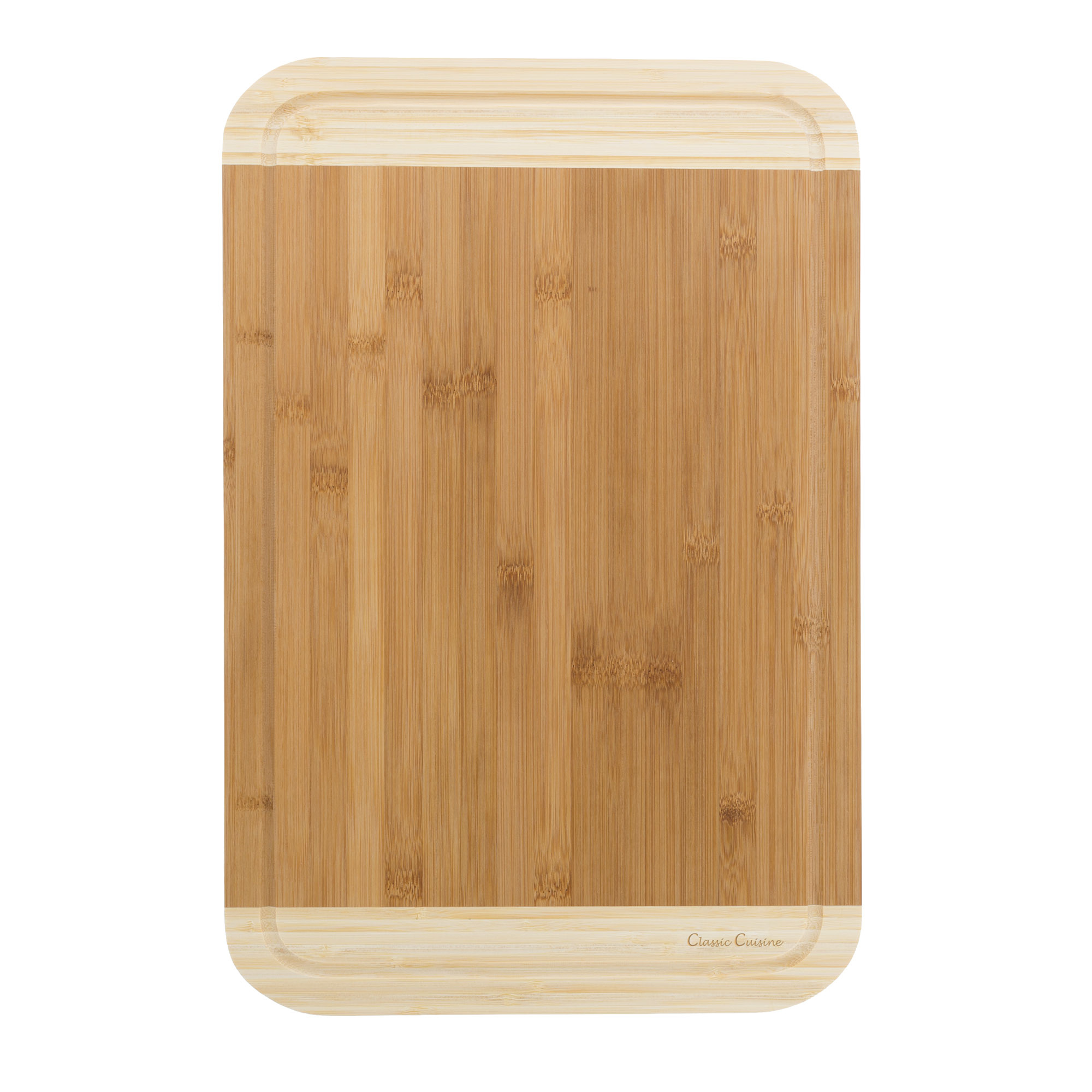 Wooden Thick Bamboo Professional Quality Cutting Board 81 x 12 Inches Juice Groove Antibacterial