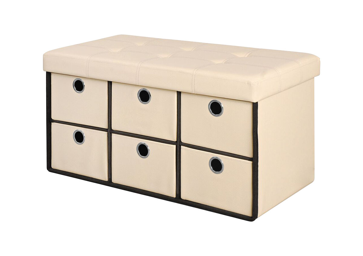 Bintopia Home Office 6 Drawer Bench