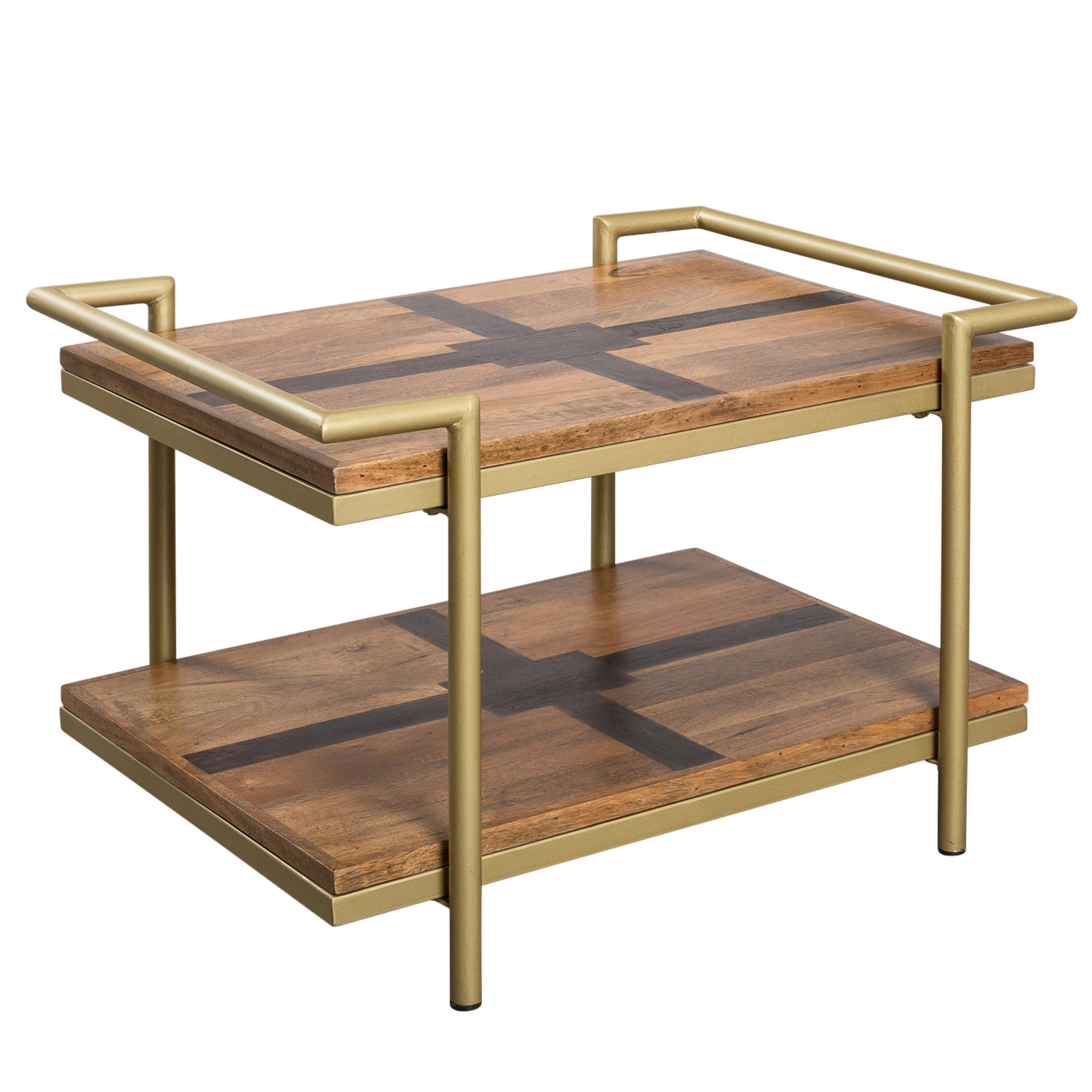 West Valley Two Tone Wood Coffee Table