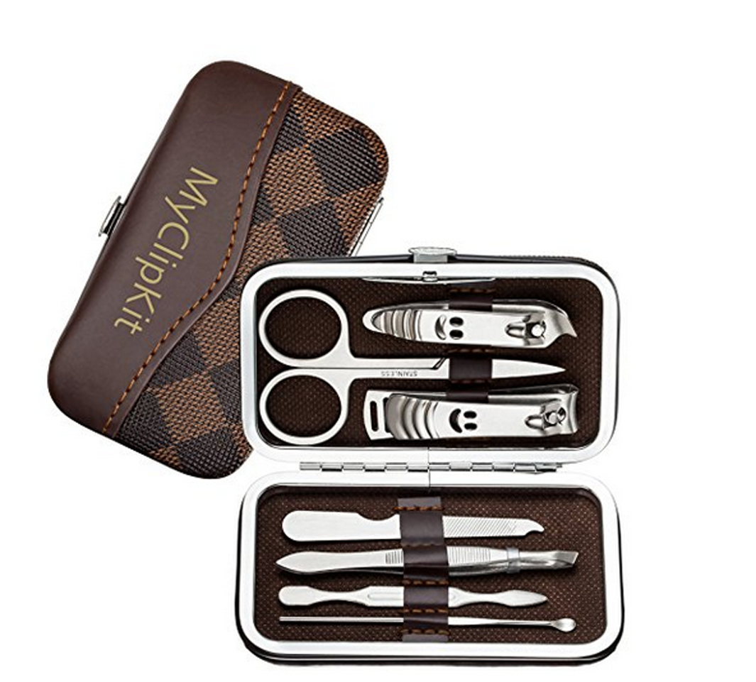 Stainless Steel Nails Cutter Manicure Set Pedicure Kits 7 in 1 - 1 pack 59ca1692782800043b270430