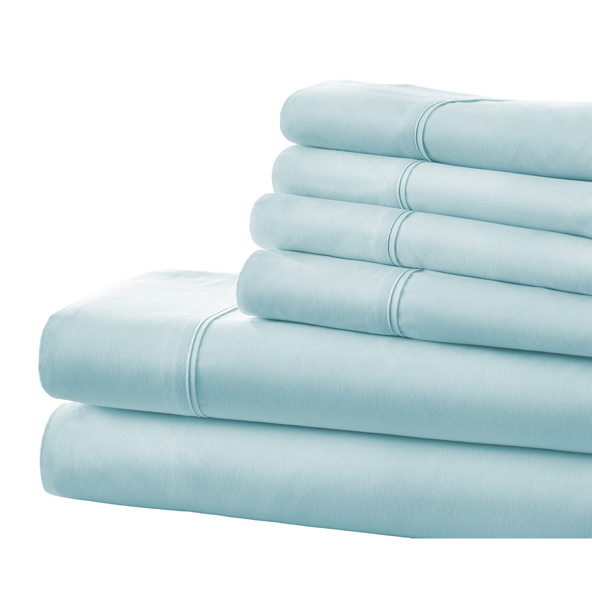 Bamboo 6-Piece Bed Sheet Set in 14 Colors - Full, Catalina Blue 59ce6cd6bd5491033d6d3ca7