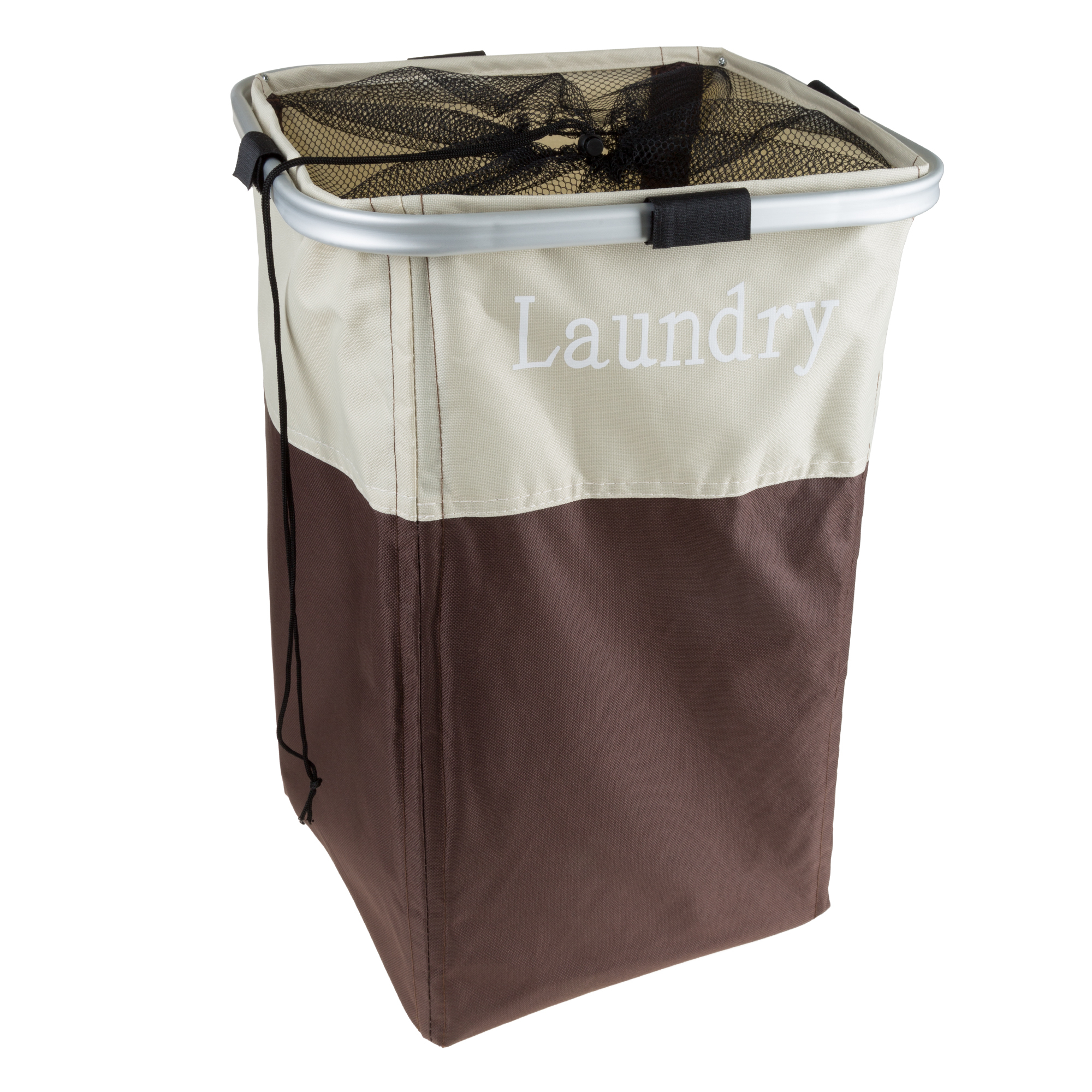 Laundry Hamper 14 x 13 x 20 inch H Collapsible Large Canvas Clothes Basket