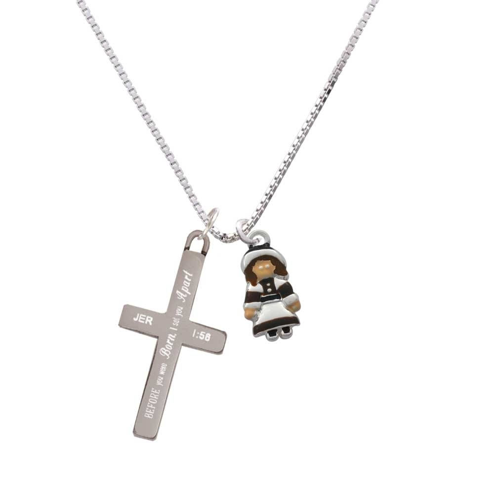 Pilgrim Girl – I Set You Apart – Cross Necklace